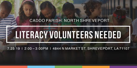 Caddo Parish Literacy Volunteer Orientation: North Shreveport tickets