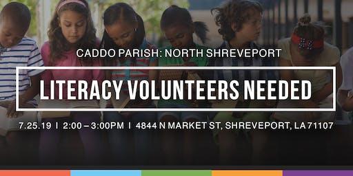 Caddo Parish Literacy Volunteer Orientation: North Shreveport