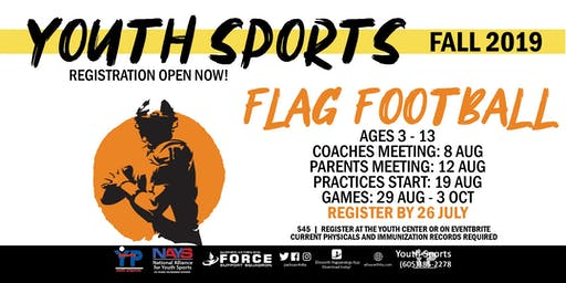 Fall Flag Football - EAFB Youth Sports