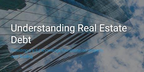 Understanding Commercial Real Estate Debt tickets