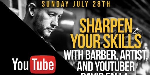 "FREE Barbering Education by David Falla ""FitBarber Education"""
