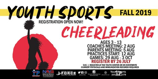 Fall Cheerleading - EAFB Youth Sports