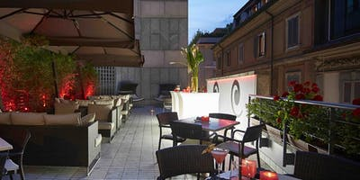 Hotel Sina The Gray Milano - Mercoledi 17 Luglio 2019 - Terrazza Aria Cocktail Party con Dj set - Lista Miami - Accrediti e Tavoli al 338-7338905