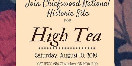 CNHS - High Tea tickets