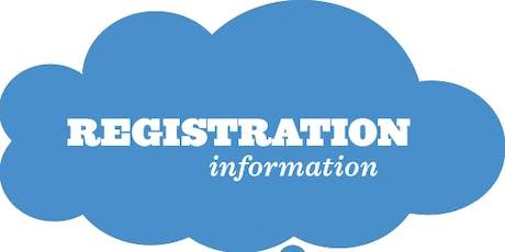 Registration of the Domiciliary Care Workforce /  Cofrestru Gweithwyr Gofal Cartref tickets
