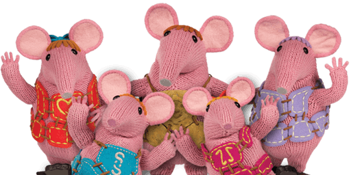 Bishops Cleeve Library - Summer Reading Challenge - Clangers Craft