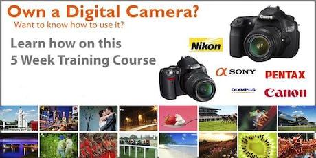 Photography Digital SLR Camera 5 Week Training Course tickets