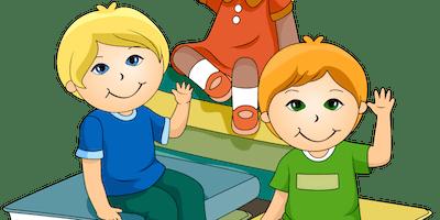 """""""Do Something New""""- Free Kids Workshop: 'Superhero Shapes' - Ages 5-6"""