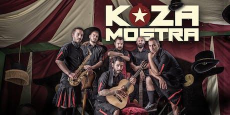KOZA MOSTRA live in München Tickets