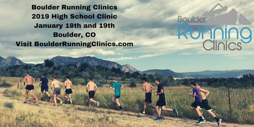 Boulder Running Clinics - January 2020 High School Clinic