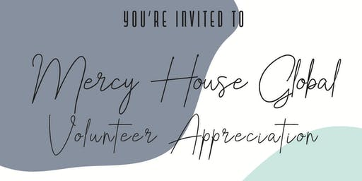 Mercy House Global | Volunteer Appreciation [9:30 AM]