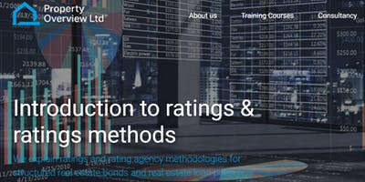 Introduction to Ratings & Ratings Methods - short course