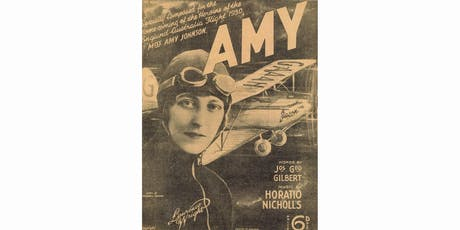 Amy Johnson talk by Ann Beedham at Sheffield General Cemetery - Sunday 15th September tickets