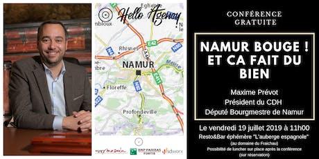 Namur BOUGE et ça fait du bien (avec Maxime Prévot) billets