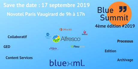 Blue Summit 2019 billets