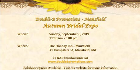 Mansfield Autumn Bridal Expo tickets