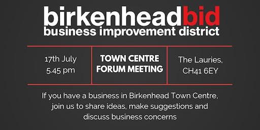 Birkenhead Town Centre Forum Meeting