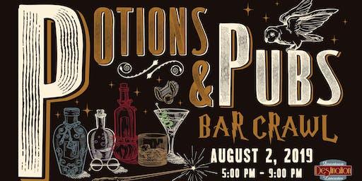Potions and Pubs Bar Crawl