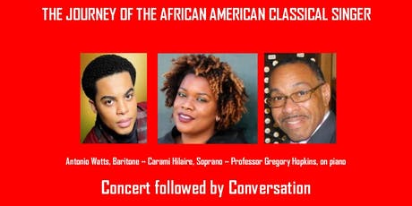The Journey of the African American Classical Singer  tickets