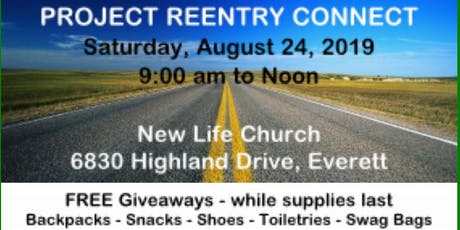 Project Reentry Connect tickets