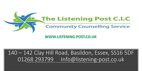 Working with victims of child to adult abuse and male victims of abuse  CPD ( 6 hours )Counsellors, Counselling tickets