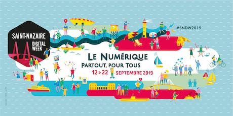 Atelier communication Saint-Nazaire Digital Week 2019 billets
