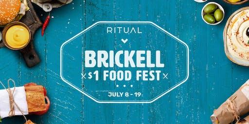 Brickell $1 Food Fest