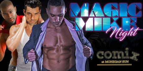 """Magic Mike Casino Tribute Show"" with Men in Motion Mohegan Sun tickets"