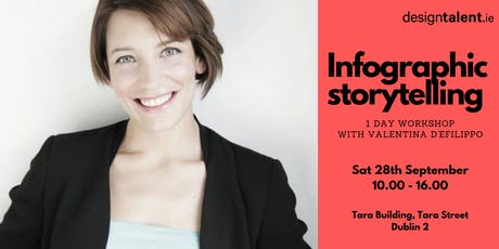 Infographic Storytelling with Valentina D'Efilippo tickets