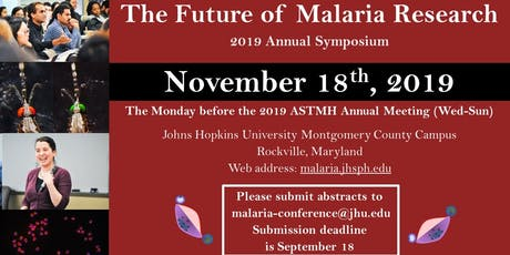 2019 Future of Malaria Research tickets