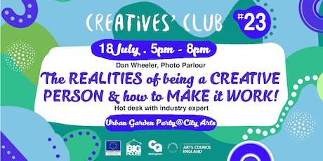 Creatives' Club #023: Urban Garden Party tickets