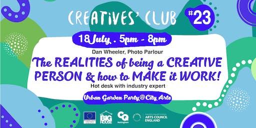 Creatives' Club #023: Urban Garden Party