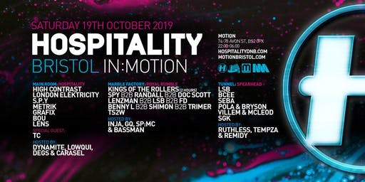 Hospitality Bristol In:Motion
