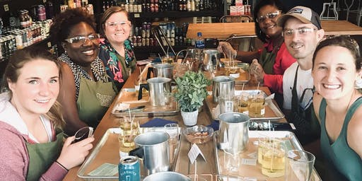 Let's Get Lit!! - Candle Making Workshop @ Pharmacy Bottle + Beverage