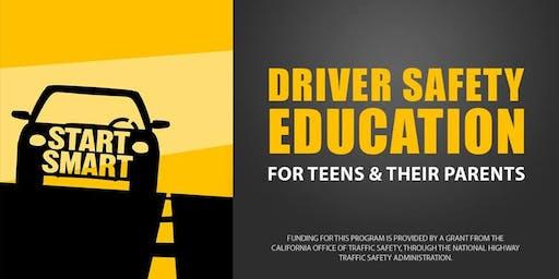 CHP Start Smart New Driver Safety Class