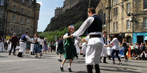 25th Dunedin Dancers International Folk Dance Festival - Grassmarket, Edinburgh