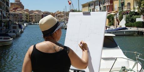 """VI Concurso de pintura al aire libre de Alboraya """"PINTA AL CARRER"""" 2019 entradas"""