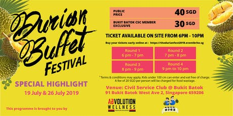 The Durian Fest 2019 tickets