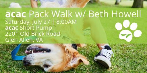 acac Pack Walk