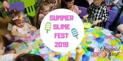 Summer Slime At Umberslade