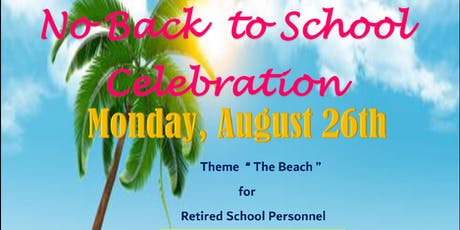 No Back to School Celebration tickets