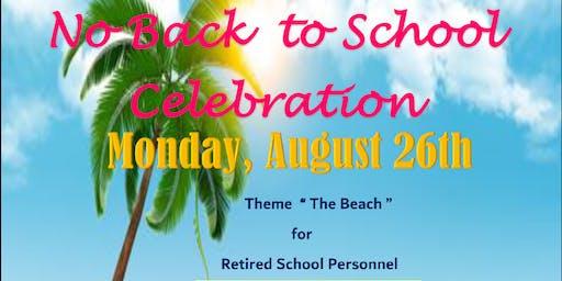 No Back to School Celebration