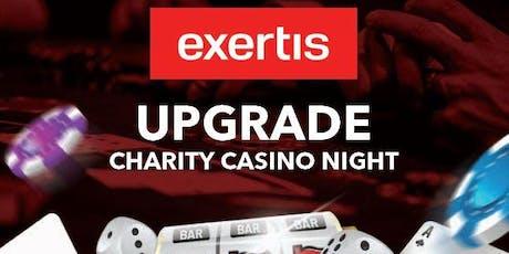 Exertis Upgrade charity casino night tickets