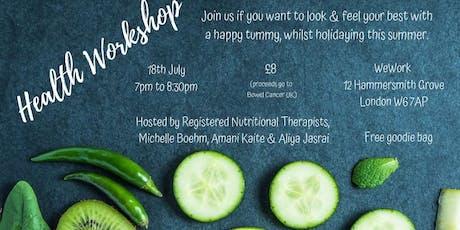 Health & Wellness Workshop tickets