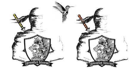 Ninja Warrior Fall 2019 Registration tickets
