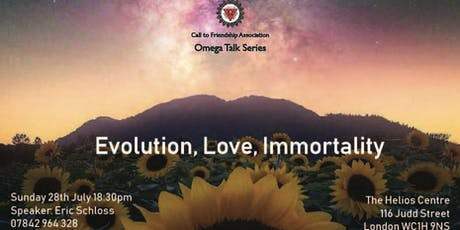 Evolution, Love, Immortality tickets