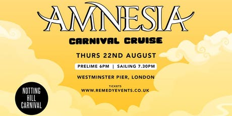 Amnesia Carnival Cruise tickets