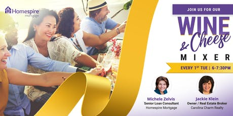 Wine & Cheese Mixer with Michele & Jackie K. tickets
