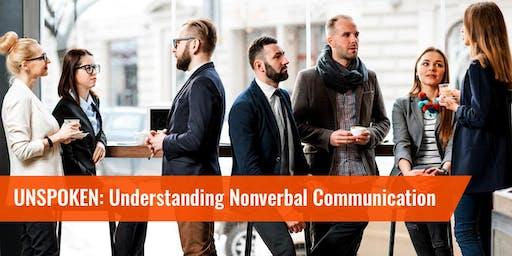 Silicon Halton Meetup #117: Unspoken - Understanding Nonverbal Communication