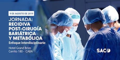 Recidiva post-Cirugía Bariátrica y Metabólica - Enfoque Interdisciplinario entradas